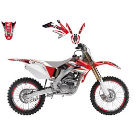 BLACKBIRD SADA POLEPŮ HONDA CRF 250R '04-'09, 250X '04-'16, 450X  '04-'16 DREAM 3