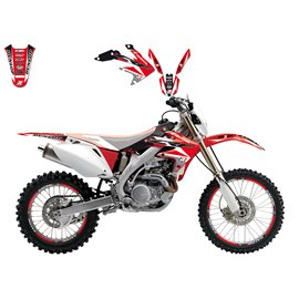 BLACKBIRD SADA POLEPŮ HONDA CRF 450X '04-'15, DREAM 3