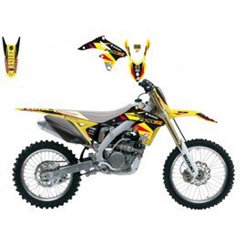 BLACKBIRD SADA POLEPŮ SUZUKI RMZ 250 10-18 Dream3